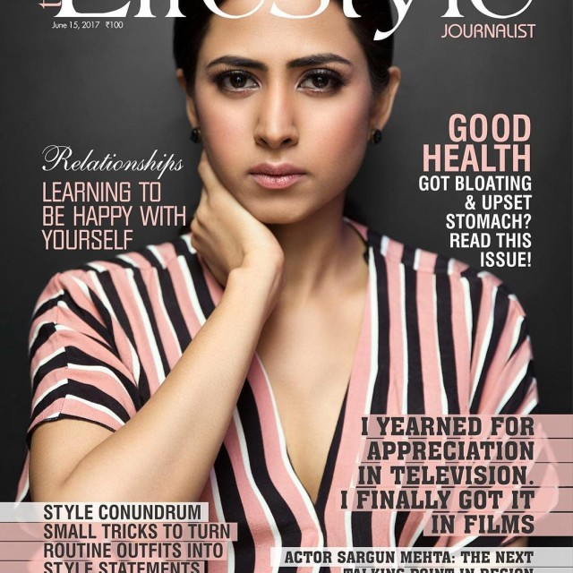 Say hi to our Bold amp Beautiful cover star sargunmehtahellip