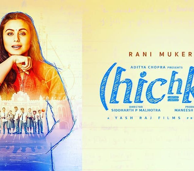 Poster of Rani Mukherjee new movie Hichki which will behellip