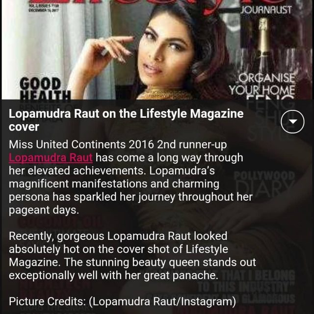 Thanks Times of India and beauty pageants for covering newshellip