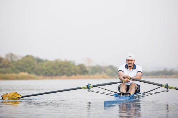 The Arjuna Award winner rower Jagjit Singh