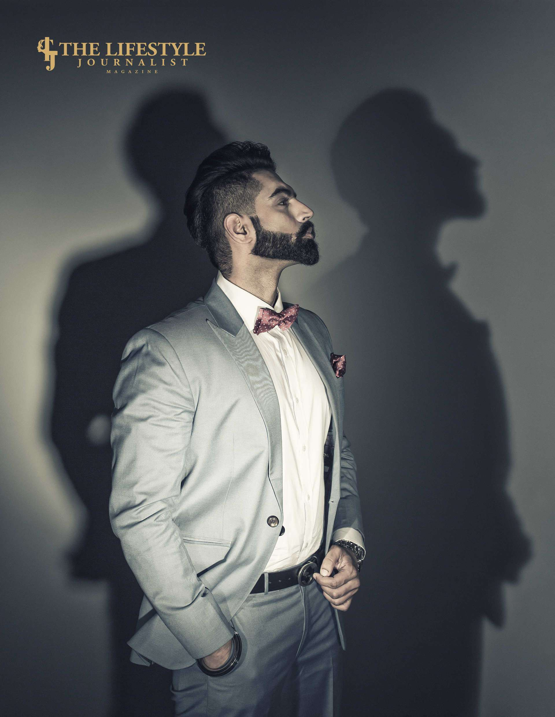 Parmish Verma at TLJ magazine