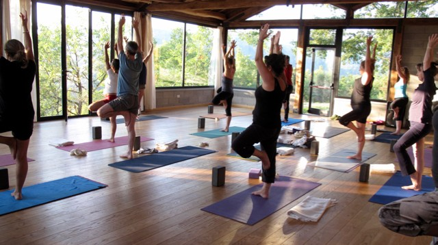 yoga retreats all over the world Italy