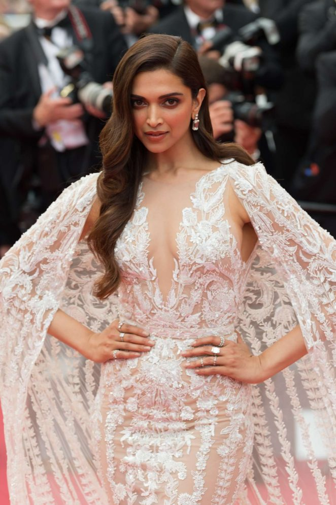 Cannes Film Festival 2018 The lifestyle Journalist magazine deepika padukone white dress