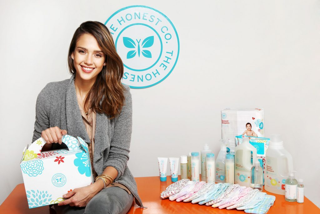 Jessica Alba and diaper company